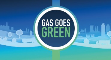Gas Goes Green image
